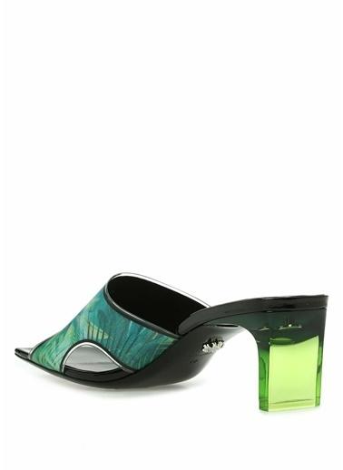 Versace Terlik Yeşil